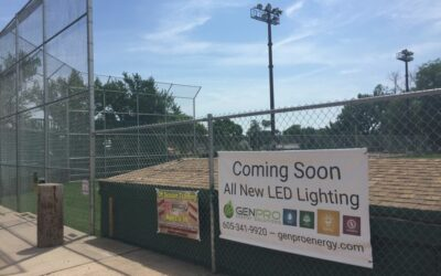Vision Fund recipient Rushmore Little League LED lighting install commences