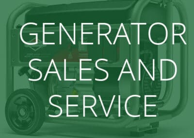 Generator Sales and Service